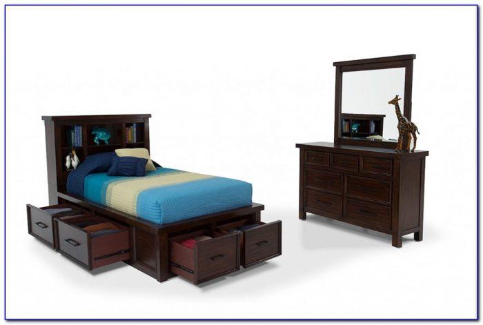 Bookcase Headboard Bedroom Furniture