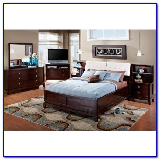 Bookcase Headboard Bedroom Sets