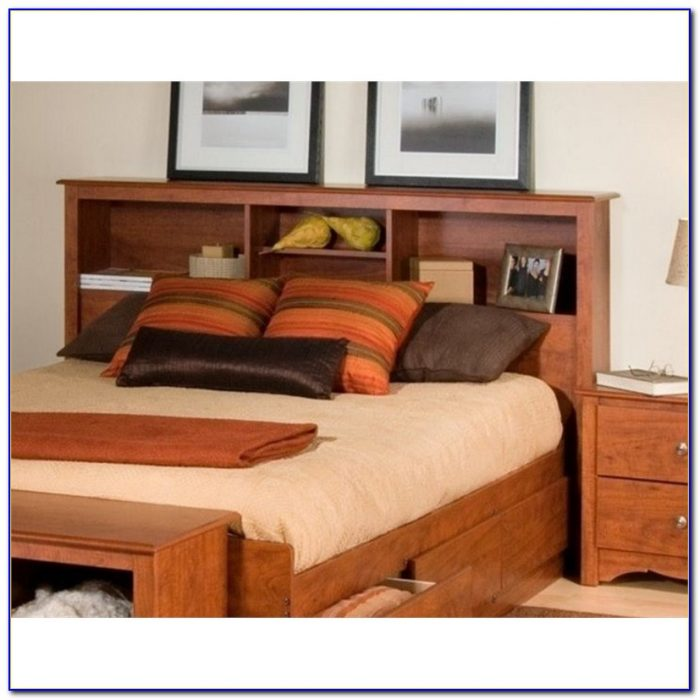Bookcase Headboards Queen Size