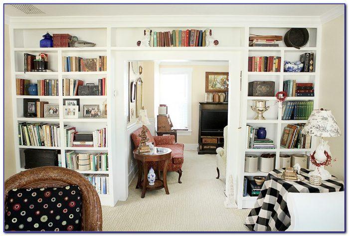 Bookcase Living Room Design