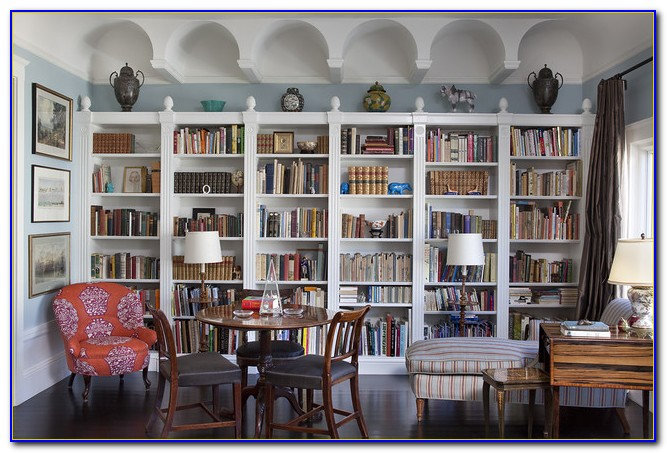 Bookcase Living Room Ideas