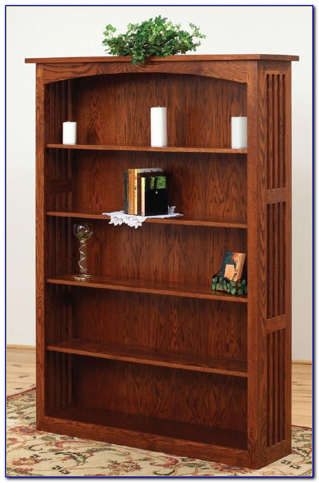 Bookcase Mission Style Solid Wood