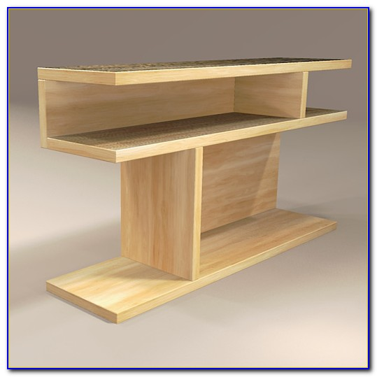 Bookcase Side Table