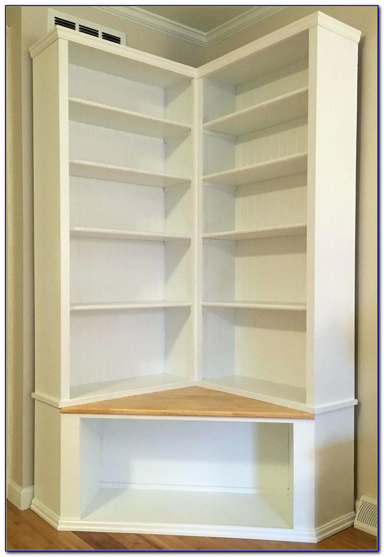 Bookcase With Base Cabinets