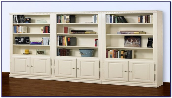 Bookcase With Cabinets On Bottom Plans