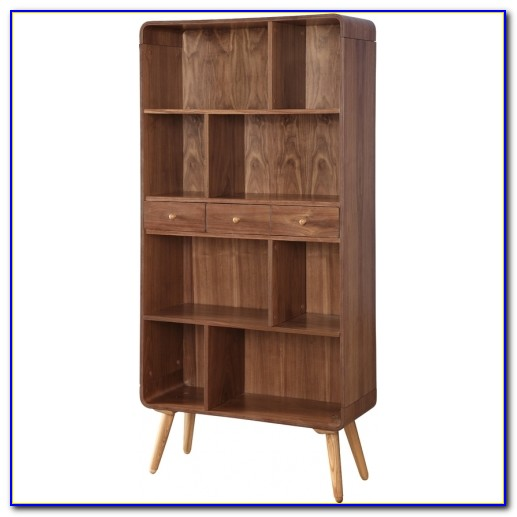 Bookcase With Hairpin Legs