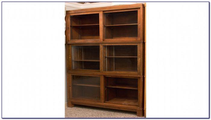 Bookshelf Sliding Glass Doors
