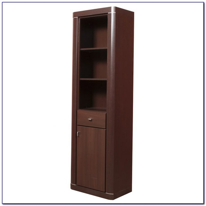 Bookshelf With Doors And Drawers