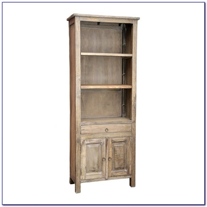Brick Santa Fe Bookcase