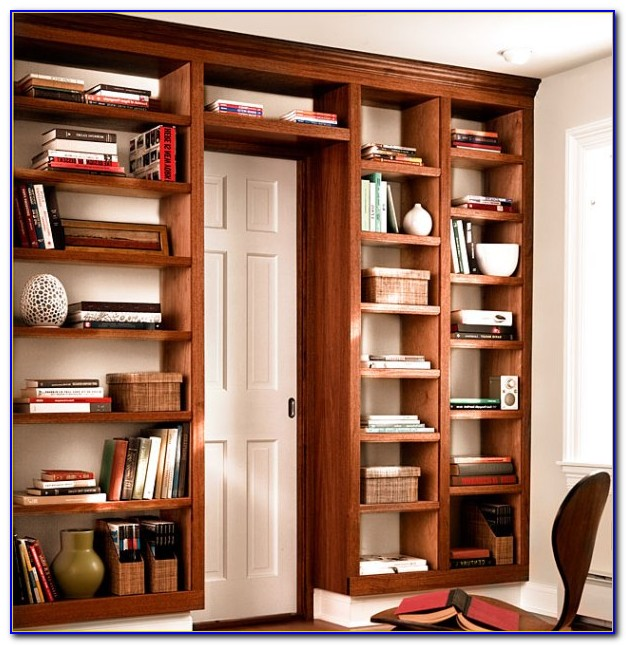 Build A Custom Bookcase Wall