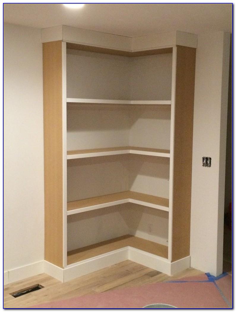 Built In Bookshelf Kits