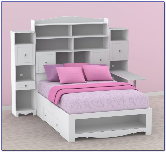 Bunk Beds With Bookcase Headboards