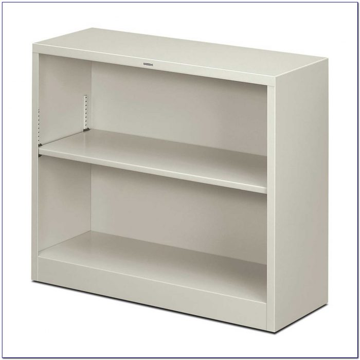 Carson Two Shelf Bookcase White