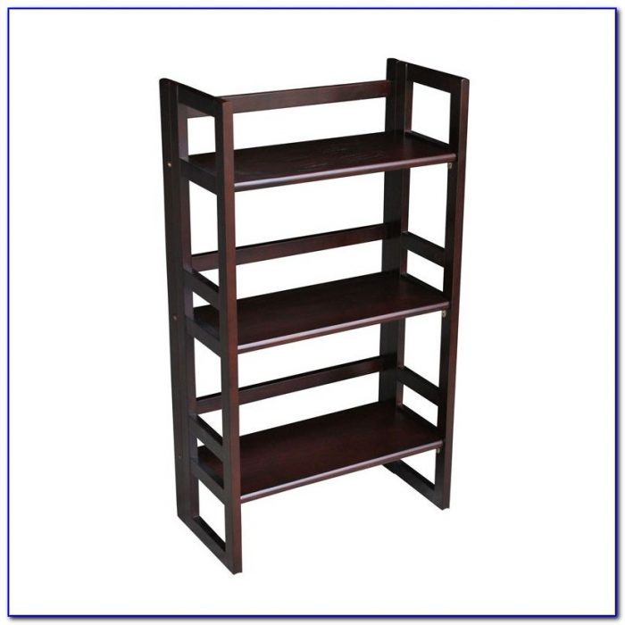 Casual Home 3 Tier Folding Bookcase
