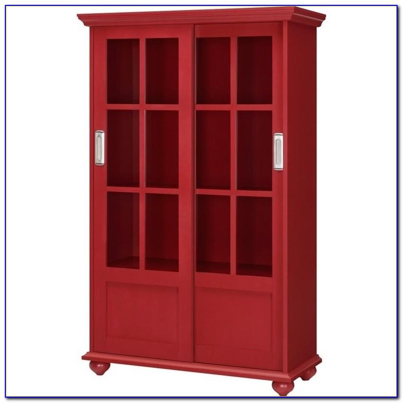 Cavanaugh Sliding Glass Door Bookcase