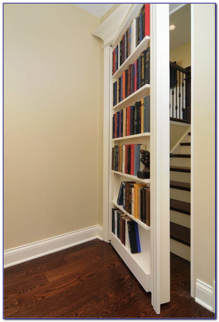 Closet Door Bookshelves