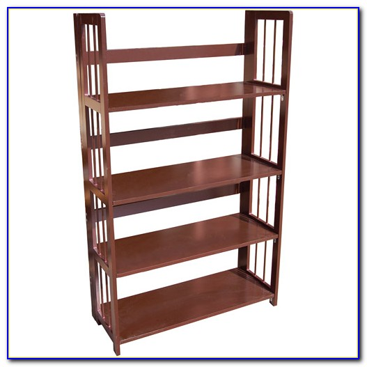 Container Store Stackable Folding Bookcase