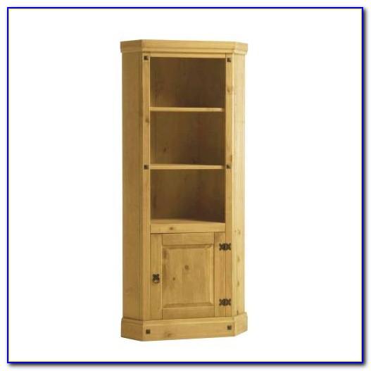 Corner Bookshelf Cabinet