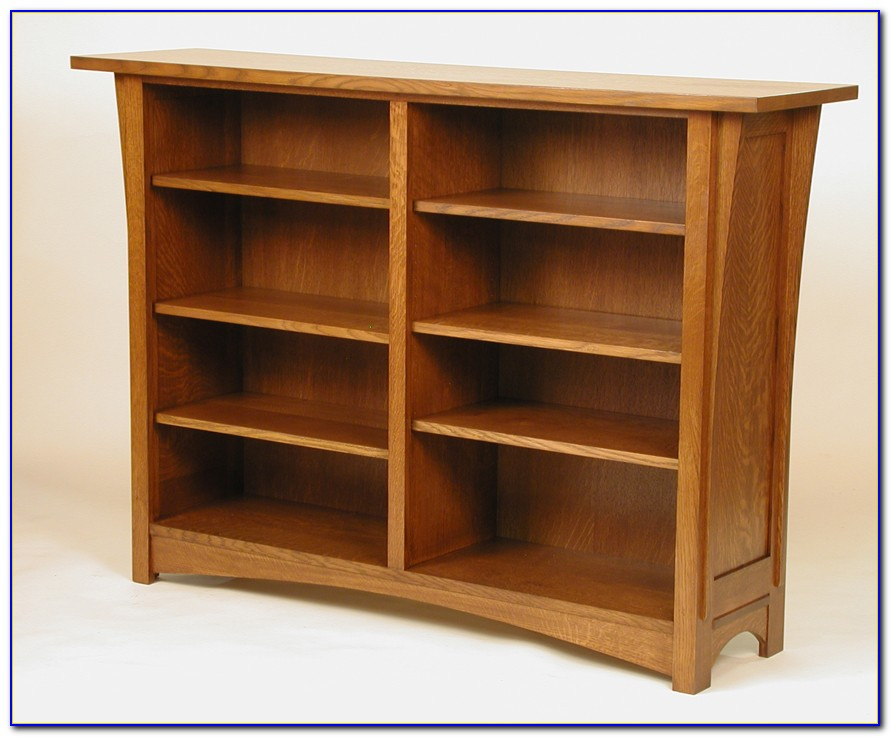 Craftsman Style Bookshelves
