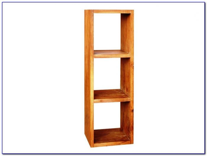 Cube Wooden Bookcase