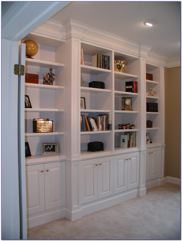 Custom Built Bookcase Designs