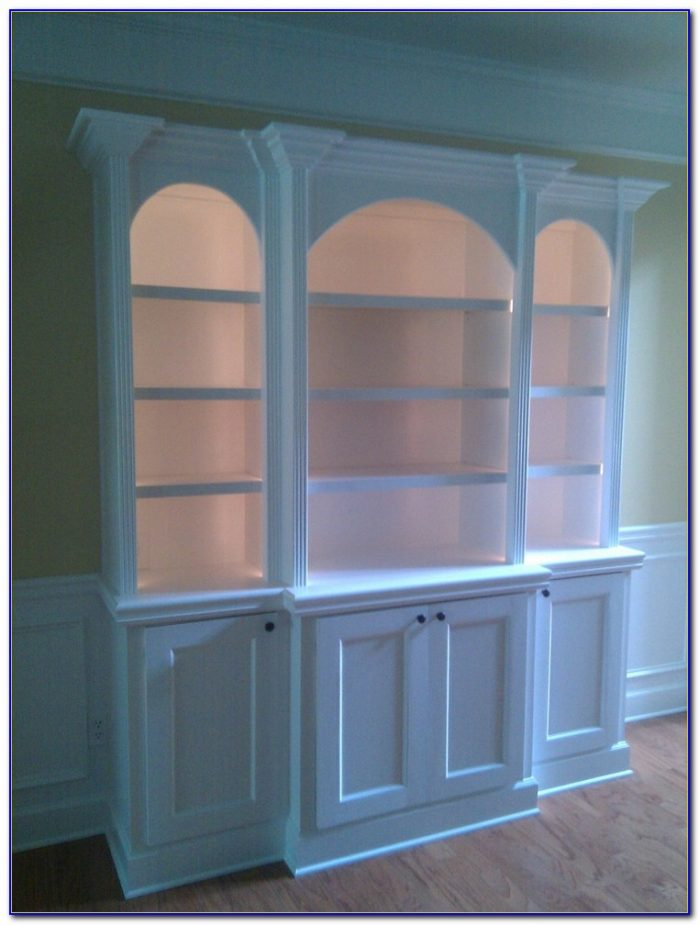 Custom Built In Bookcases Atlanta