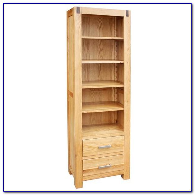 Dark Oak Wood Bookcase