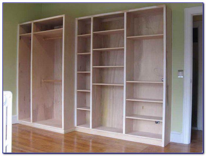 Diy Bookcase Wall