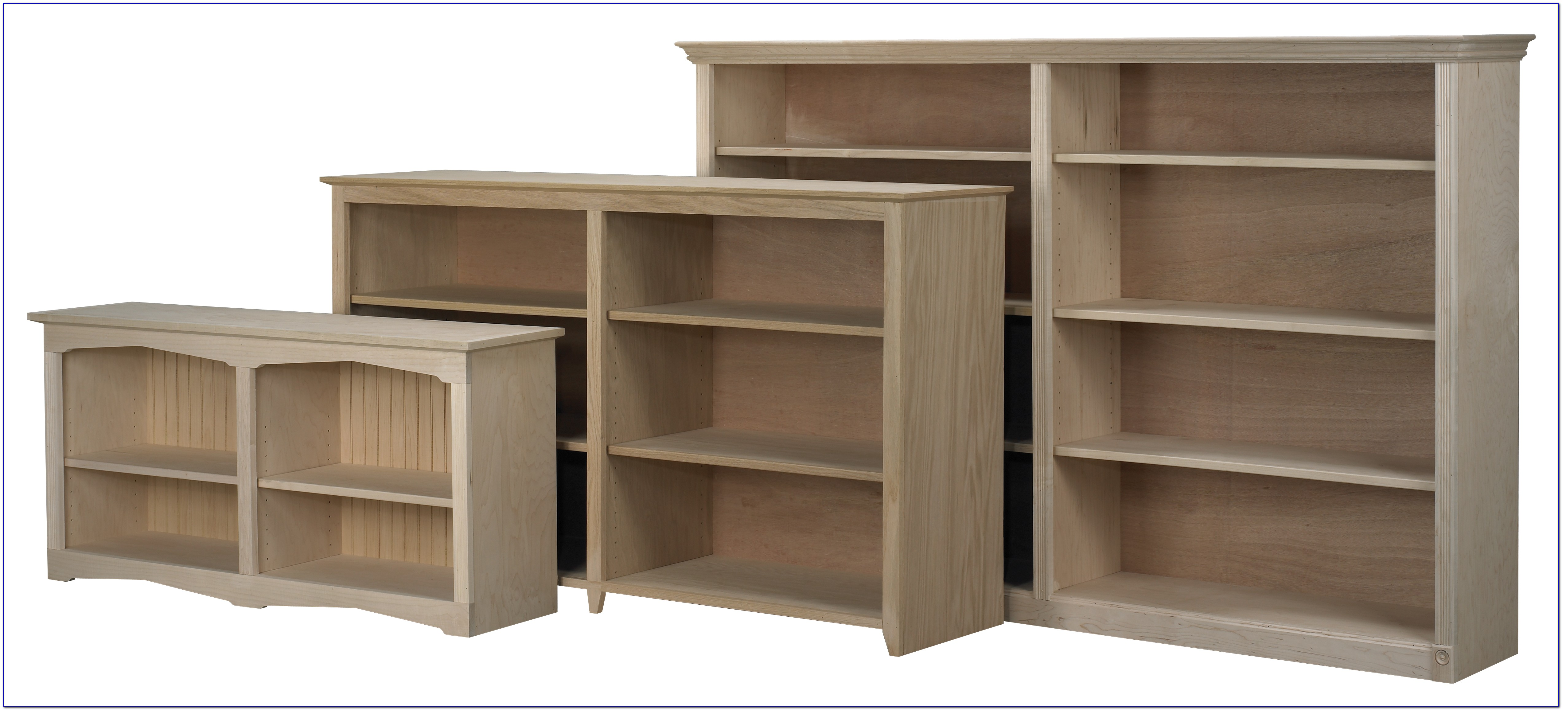 Extra Wide Bookcase Shelves