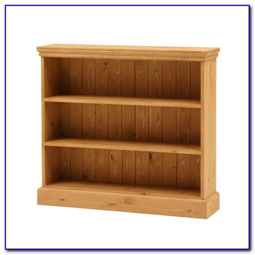 Extra Wide Oak Bookcase
