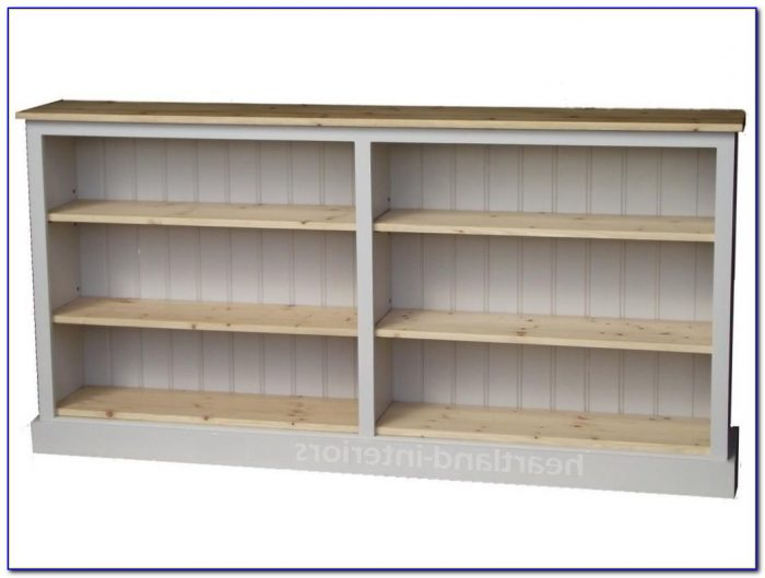 Extra Wide Pine Bookcase
