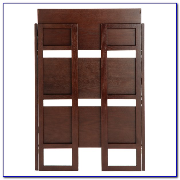 Folding Wood Bookcase