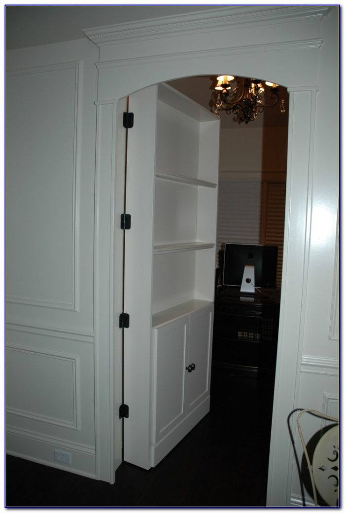 Hidden Bookcase Hardware Bookcase Home Design Ideas