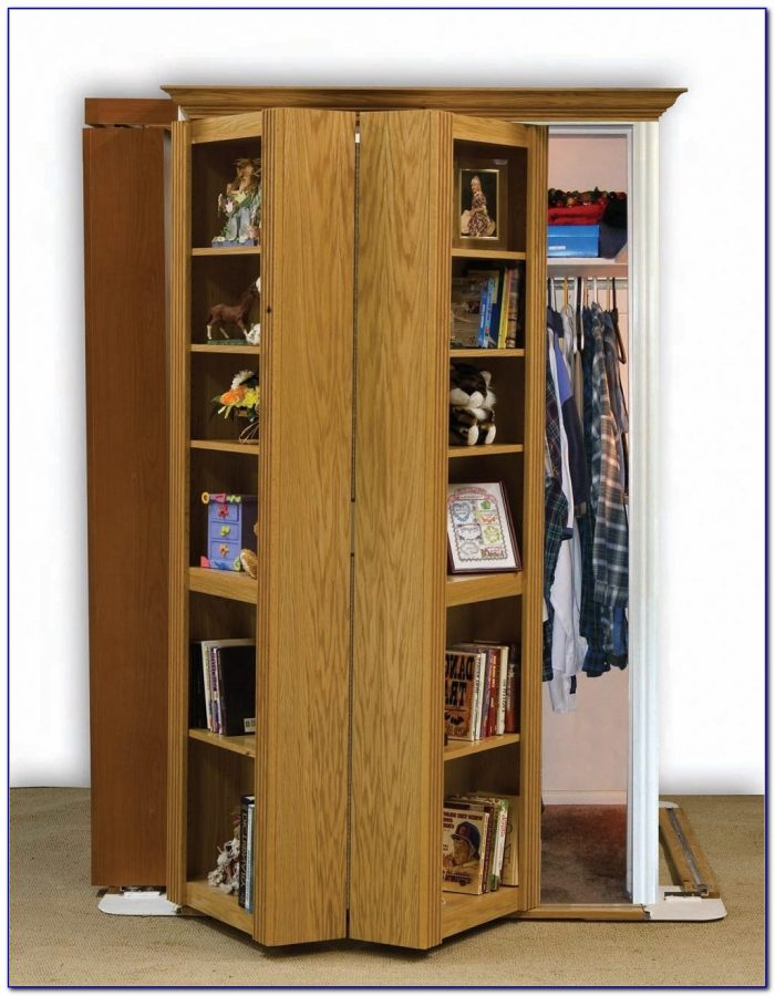 Hidden Closet Door Bookcase