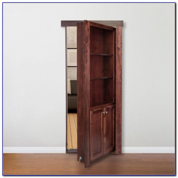 Hidden Door Hinges Bookcase