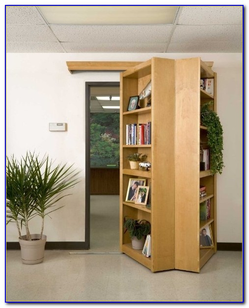 Hinged Bookshelf Door