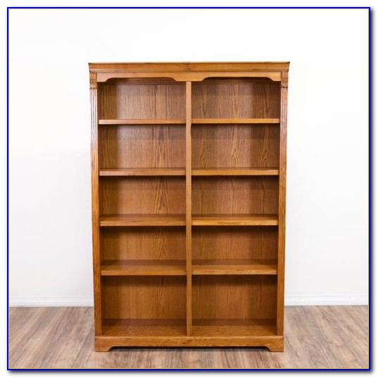 Honey Oak Folding Bookcase