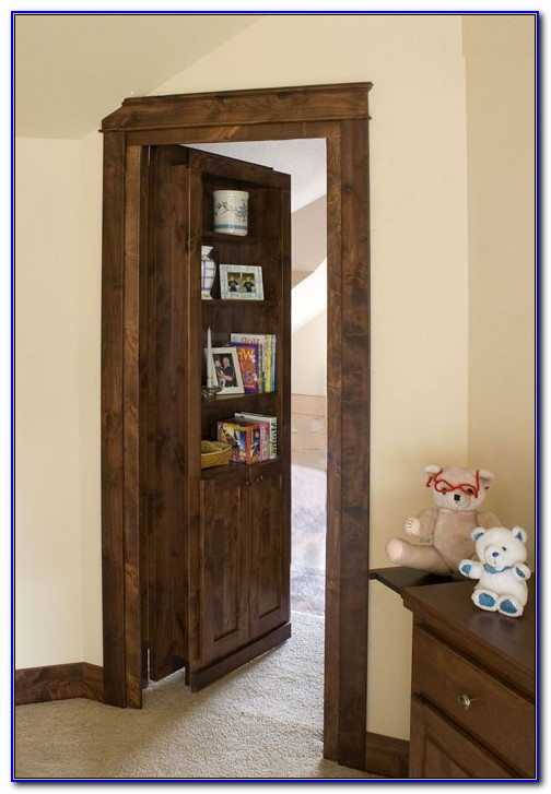 How To Build A Hidden Bookshelf Door