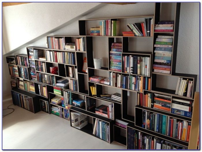 How To Build A Wall Mounted Bookcase