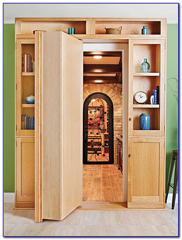 How To Make A Hidden Bookcase Door