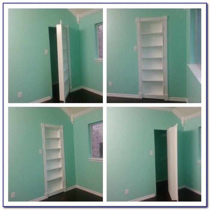 How To Make A Hidden Bookshelf Door In Minecraft