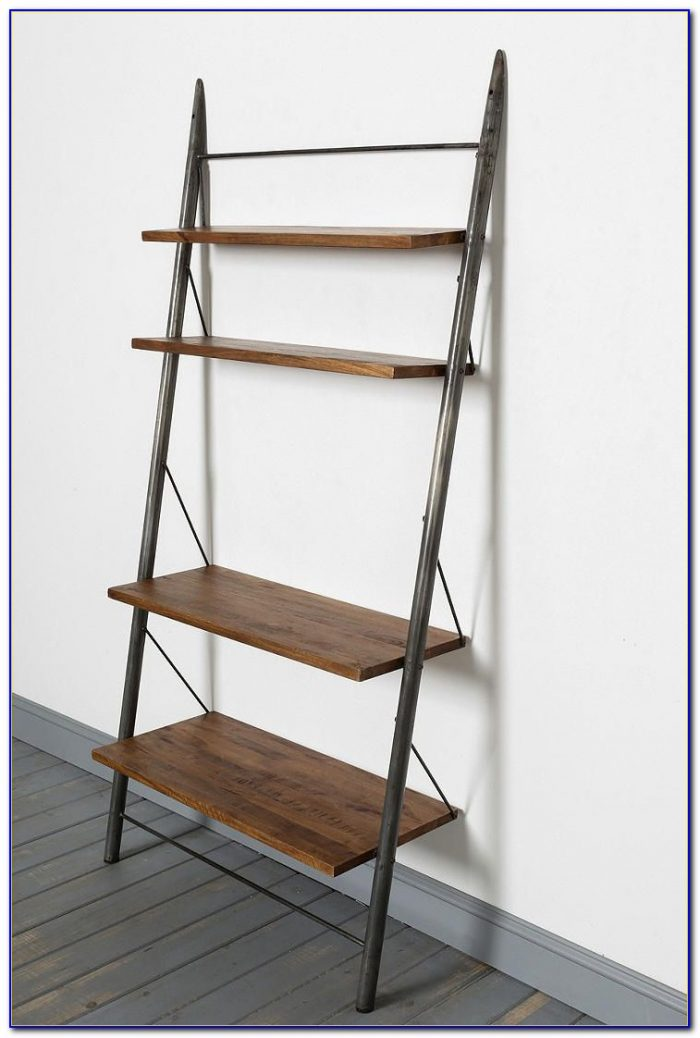 How To Make A Leaning Ladder Bookcase