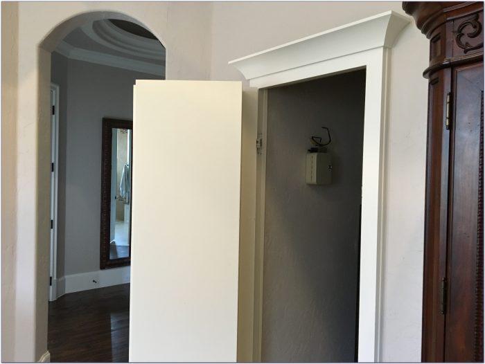 How To Make A Secret Bookcase Door In Minecraft