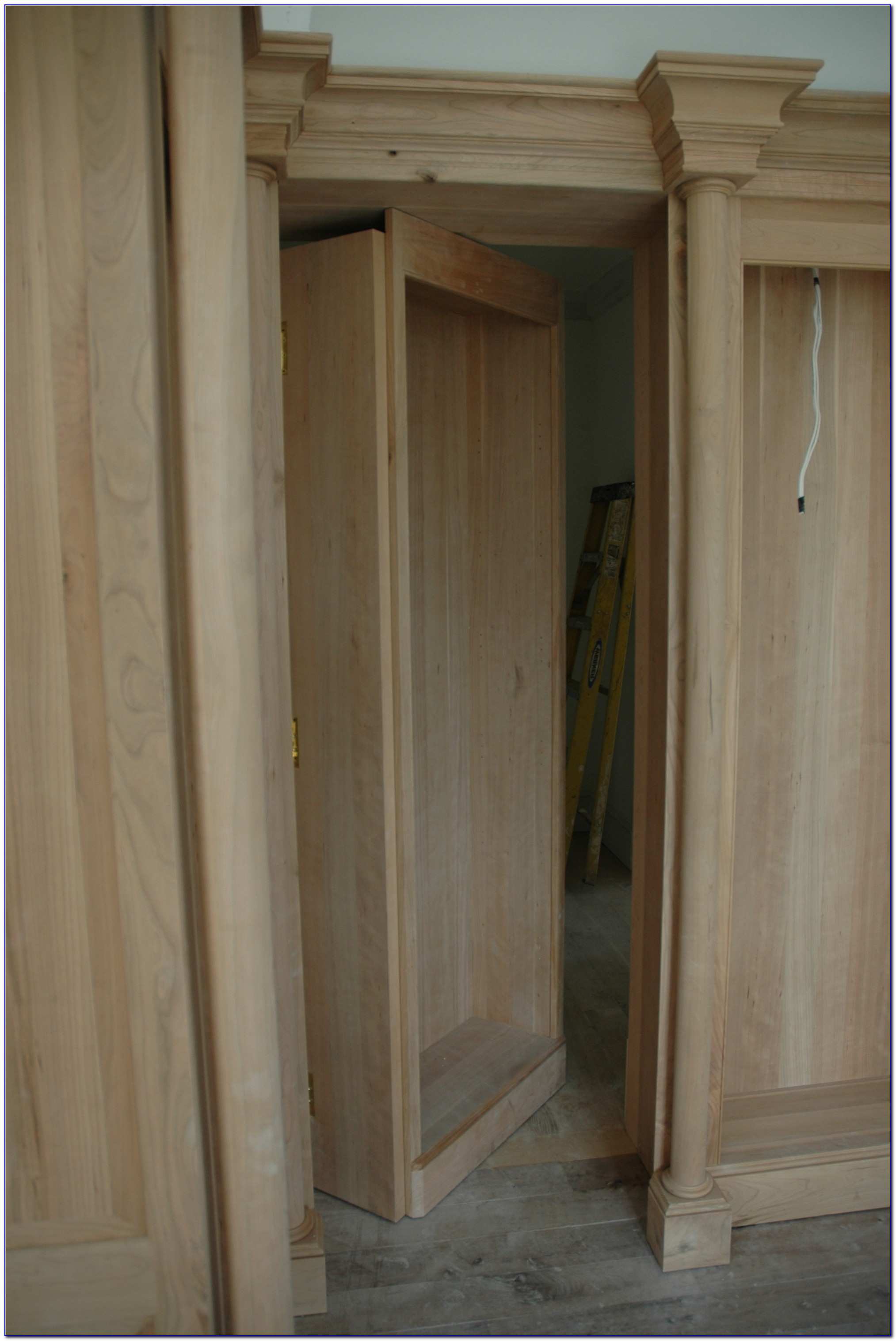 How To Make A Secret Bookshelf Door