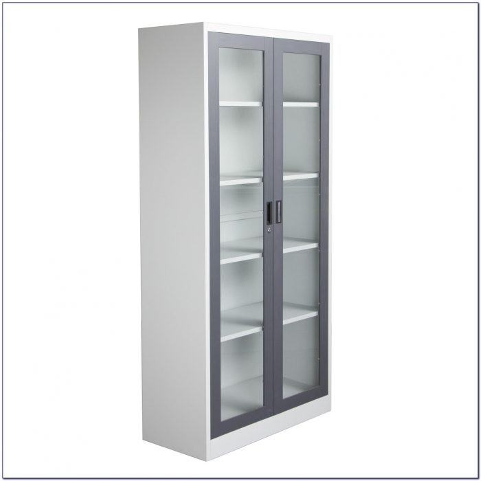 Ikea Billy Glass Bookcase