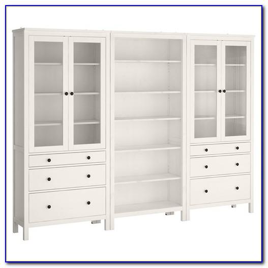 Ikea Billy Glass Door Bookcase
