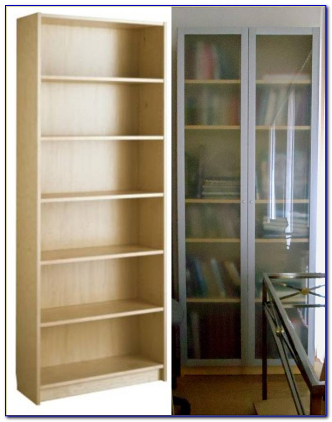 Ikea Glass Bookcase
