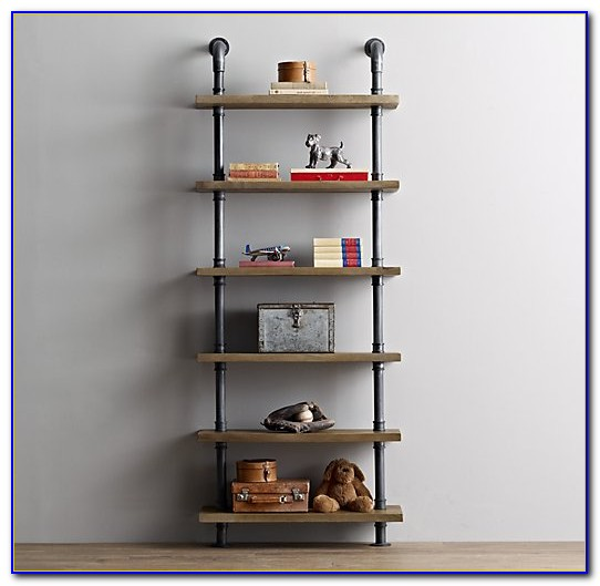 Industrial Pipe Bookshelf Uk
