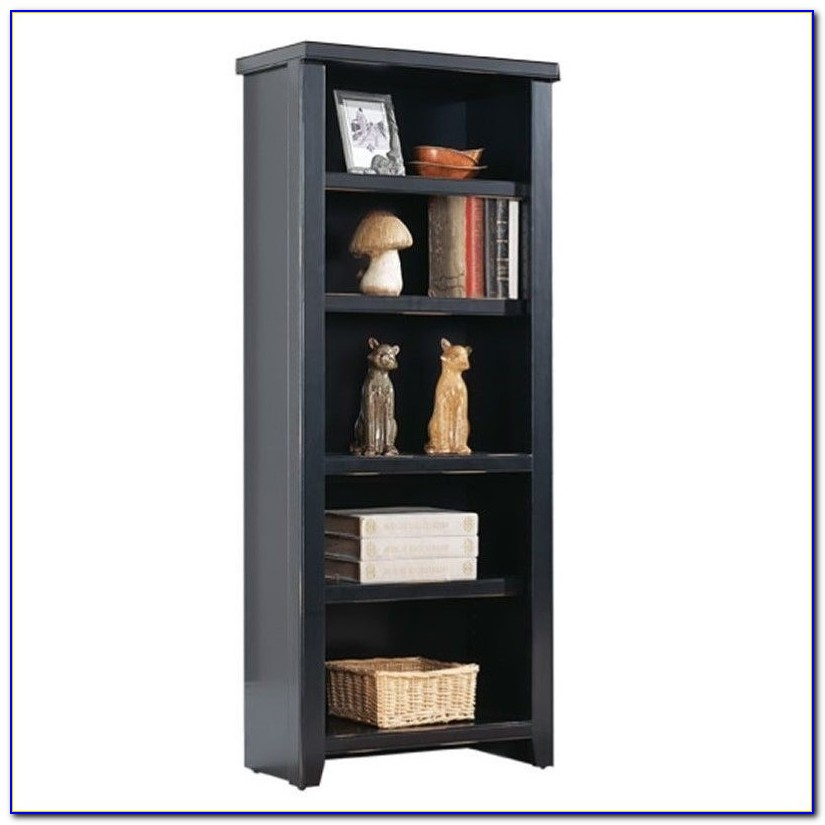 Kathy Ireland Cherry Bookcase