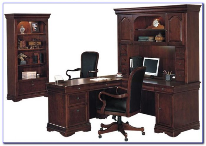 L Shaped Computer Desk With Bookcase